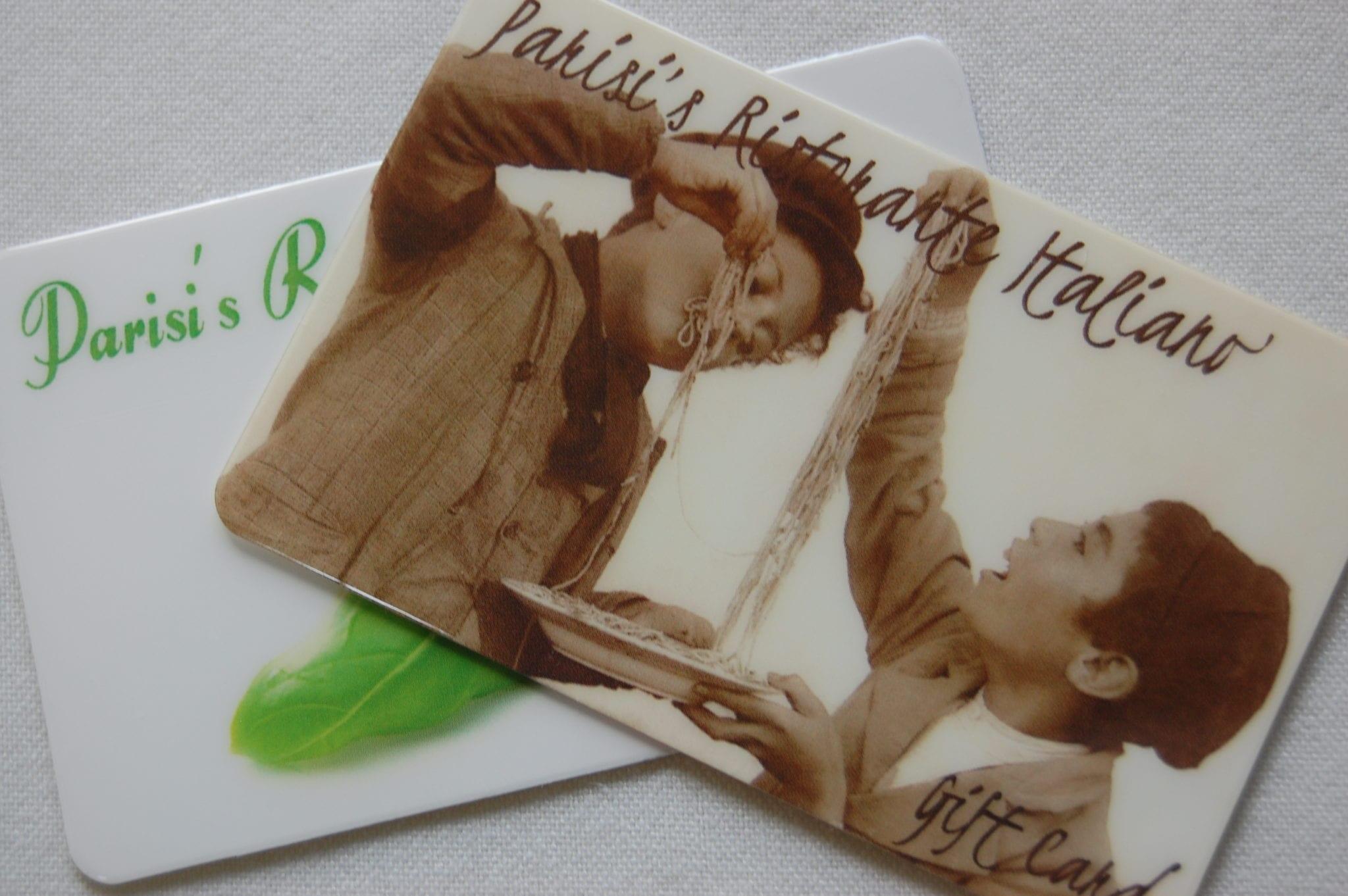 Parisi's Restaurant Gift Cards